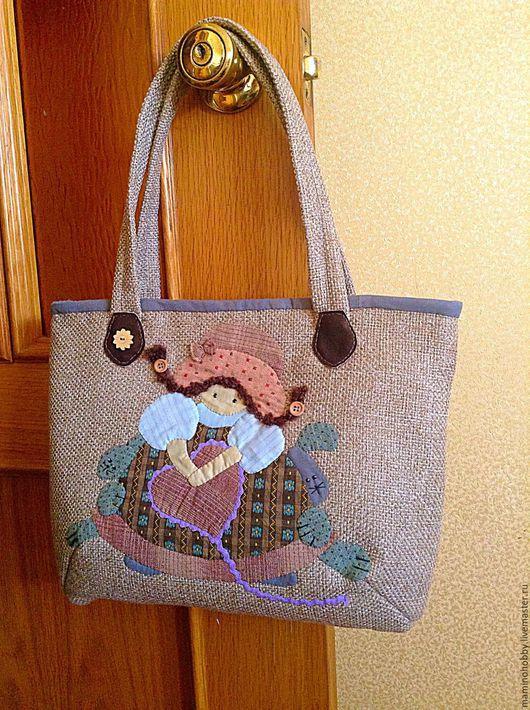 Женские сумки ручной работы. Ярмарка Мастеров - ручная работа. Купить Лоскутная сумочка в японской технике. Handmade. лоскутный