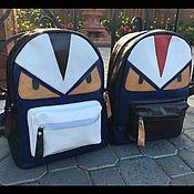 Классическая сумка ручной работы. Ярмарка Мастеров - ручная работа %Необычные Рюкзачки Angry Birds-%. Handmade.