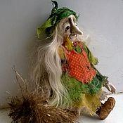 """Куклы и игрушки ручной работы. Ярмарка Мастеров - ручная работа кукла """"Толстенькая Ягулька"""" (подвесочка). Handmade."""