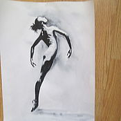 Картины и панно ручной работы. Ярмарка Мастеров - ручная работа картина 8 Балет- любовь моя. Handmade.