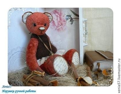 Мишки Тедди ручной работы. Ярмарка Мастеров - ручная работа мишка Тедди. Юля. Handmade.