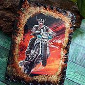 Сумки и аксессуары handmade. Livemaster - original item Leather cover for documents