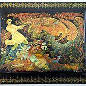 Картины и панно handmade. Livemaster - original item The Firebird.Panels on the wall .. Handmade.