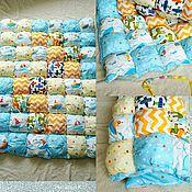 Для дома и интерьера ручной работы. Ярмарка Мастеров - ручная работа Бомбон одеяло.. Handmade.