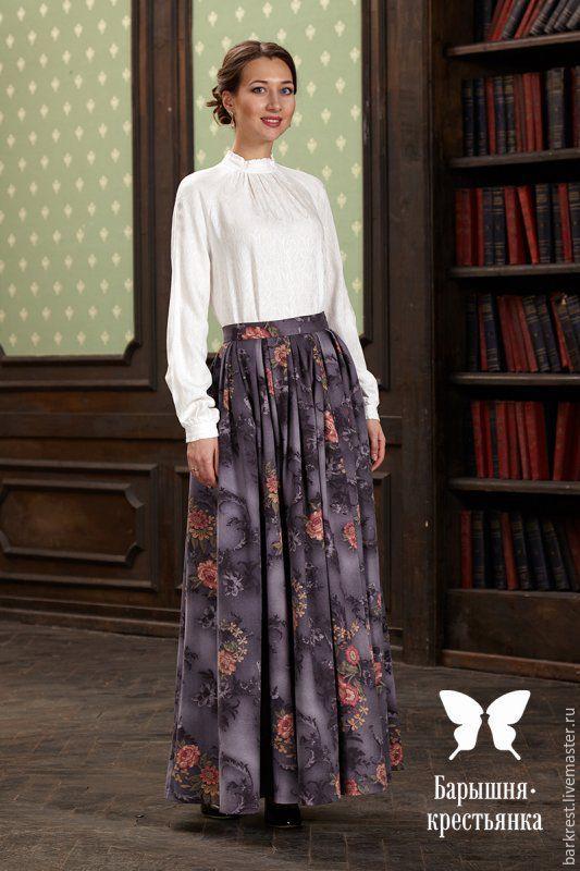 Барышня-крестьянка юбки