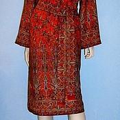 Платье из павловопосадских палантинов