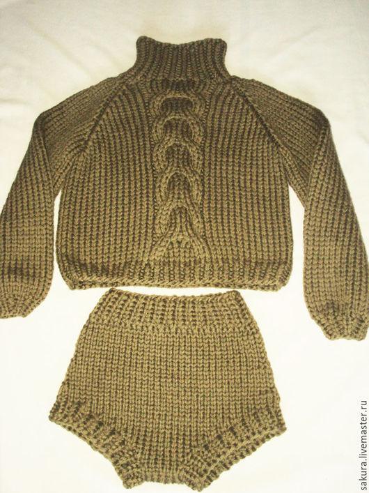 """Брюки, шорты ручной работы. Ярмарка Мастеров - ручная работа. Купить Шорты """"Манчестер"""". Handmade. Хаки, стильная одежда"""
