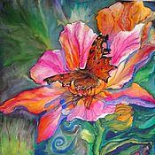 Картины ручной работы. Ярмарка Мастеров - ручная работа Бабочка этого лета. Handmade.