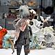 Коллекционные куклы ручной работы. Ярмарка Мастеров - ручная работа. Купить Козочка Гелла. Handmade. Серый, коза, год козы овцы