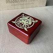 handmade. Livemaster - original item Davy Jones music box.