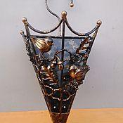 Для дома и интерьера ручной работы. Ярмарка Мастеров - ручная работа Зонтница настенная птички. Handmade.