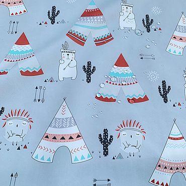 Материалы для творчества ручной работы. Ярмарка Мастеров - ручная работа Курточная ткань, дюспо Вигвамы. Handmade.