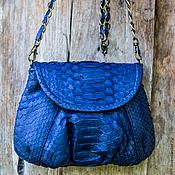 Сумки и аксессуары handmade. Livemaster - original item Bag genuine Python leather Lulu. Handmade.