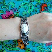 Украшения handmade. Livemaster - original item 195 silver Bracelet with stones. Handmade.