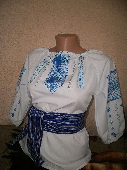 Одежда для девочек, ручной работы. Ярмарка Мастеров - ручная работа. Купить Вышиванка на девочку 2. Handmade. Белый, вышиванка детская