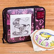Материалы для творчества ручной работы. Ярмарка Мастеров - ручная работа сумочка, сумка для вышивания купить в москве. Handmade.