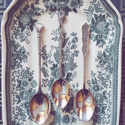 """Кухня ручной работы. Ярмарка Мастеров - ручная работа. Купить Серебряная ложка """"Веер"""". Handmade. Серебряный, серебро, ложка, для дома"""