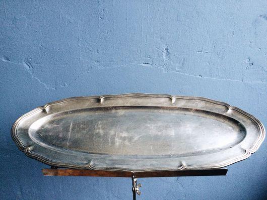 Винтажная посуда. Ярмарка Мастеров - ручная работа. Купить SALE Большое блюдо, Christofle, Франция, клеймо 1865-1935. Handmade.
