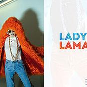 Одежда handmade. Livemaster - original item The orange coat of the llama in the presence of. Handmade.