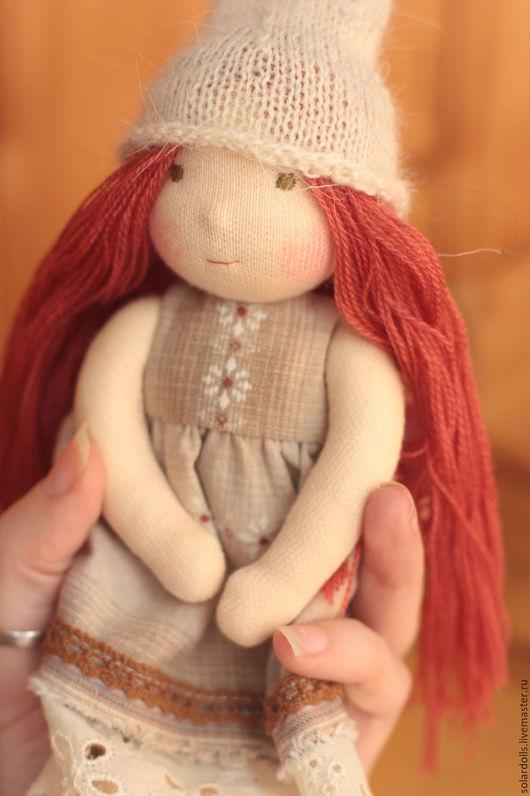 Мия 18 см Вальдорфские куклы.Julia Solarrain (SolarDolls) Ярмарка Мастеров