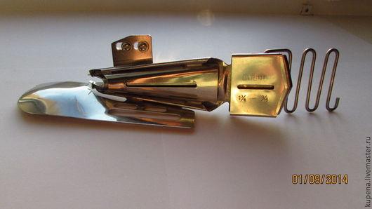 Шитье ручной работы. Ярмарка Мастеров - ручная работа. Купить Окантовыватель 1,3 см для трикотажа (в четыре сложения). Handmade.