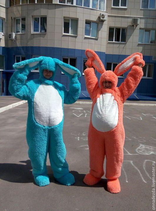 Карнавальные костюмы ручной работы. Ярмарка Мастеров - ручная работа. Купить Зайчики. Handmade. Оранжевый, заяц, представление, утренник