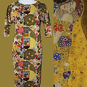 Одежда ручной работы. Ярмарка Мастеров - ручная работа Платье Климт. Handmade.