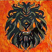 Картины и панно ручной работы. Ярмарка Мастеров - ручная работа Zodiac. Leo.. Handmade.