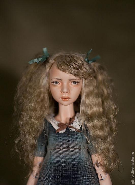 Коллекционные куклы ручной работы. Ярмарка Мастеров - ручная работа. Купить Пеппилотта - фарфоровая шарнирная кукла. Handmade. Фарфор