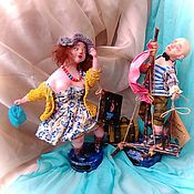 Куклы и пупсы ручной работы. Ярмарка Мастеров - ручная работа Авторская работа Алые паруса. Handmade.