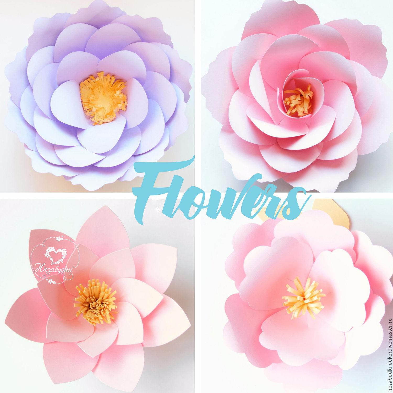 Фото больших трафаретов цветов
