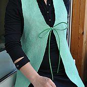 """Одежда ручной работы. Ярмарка Мастеров - ручная работа Жилет """"Пробуждение ото сна"""". Handmade."""