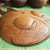 """Для дома и интерьера ручной работы. Ярмарка Мастеров - ручная работа чаша """"Рыба-кит""""3. Handmade."""