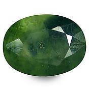 Материалы для творчества handmade. Livemaster - original item Sapphire green 1.16 CT., natural. Handmade.