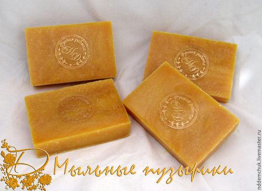 """Мыло ручной работы. Ярмарка Мастеров - ручная работа. Купить Натуральное мыло """"Дынно-фисташковое"""". Handmade. Разноцветный, натуральное мыло"""