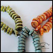 Материалы для творчества ручной работы. Ярмарка Мастеров - ручная работа Керамика 5 мм блинчики Греция. Handmade.