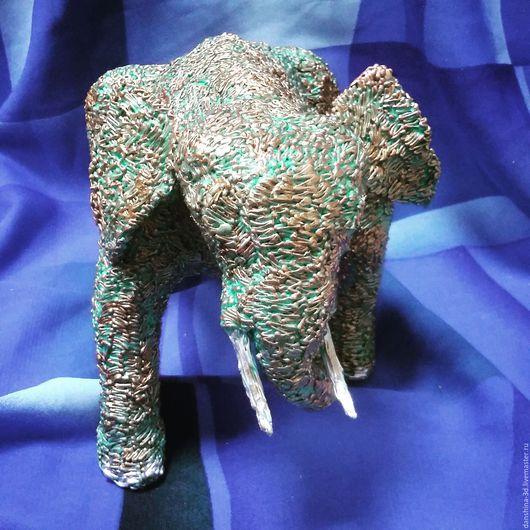 Слон 3D-ручкой. Полина Даньшина.