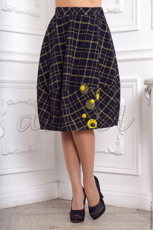 Шерстяная юбка своими руками