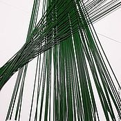 Материалы для творчества ручной работы. Ярмарка Мастеров - ручная работа Проволока флористическая разные диаметры и длина. Handmade.