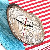 """Подарки к праздникам ручной работы. Ярмарка Мастеров - ручная работа Часы настенные """"Ракушка"""". Handmade."""