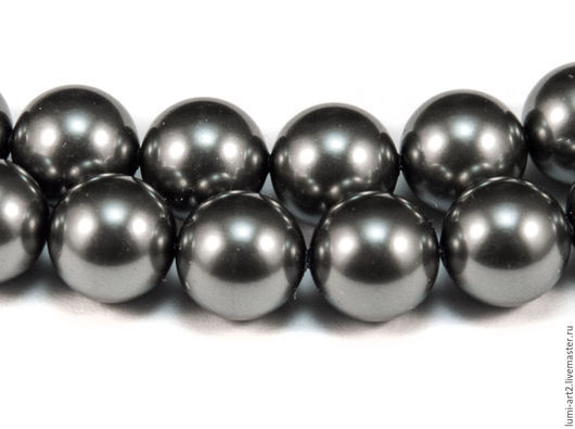 Для украшений ручной работы. Ярмарка Мастеров - ручная работа. Купить 12мм Dark Grey Жемчуг Сваровски 617 Swarovski Perl. Handmade.
