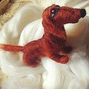 Куклы и игрушки handmade. Livemaster - original item Dachshund. Handmade.