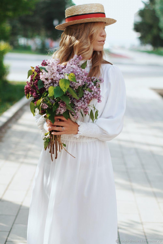 """Платья ручной работы. Ярмарка Мастеров - ручная работа. Купить Платье """"Special"""". Handmade. Белый, платье на лето"""