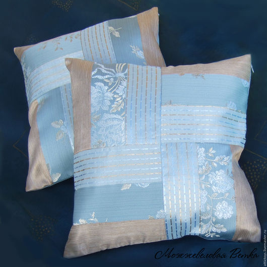 Текстиль, ковры ручной работы. Ярмарка Мастеров - ручная работа. Купить Комплект наволочек декоративных. Handmade. Декоративная подушка