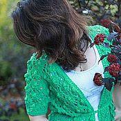 """Одежда ручной работы. Ярмарка Мастеров - ручная работа Жакет """"Каменный цветок"""". Handmade."""