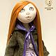 Коллекционные куклы ручной работы. Кукла Натали. shtoochwork design. Интернет-магазин Ярмарка Мастеров. Рыжий, стильная кукла