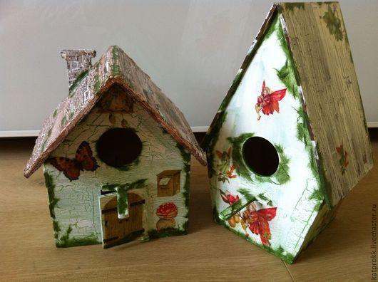 домик для райских птичек и аистов