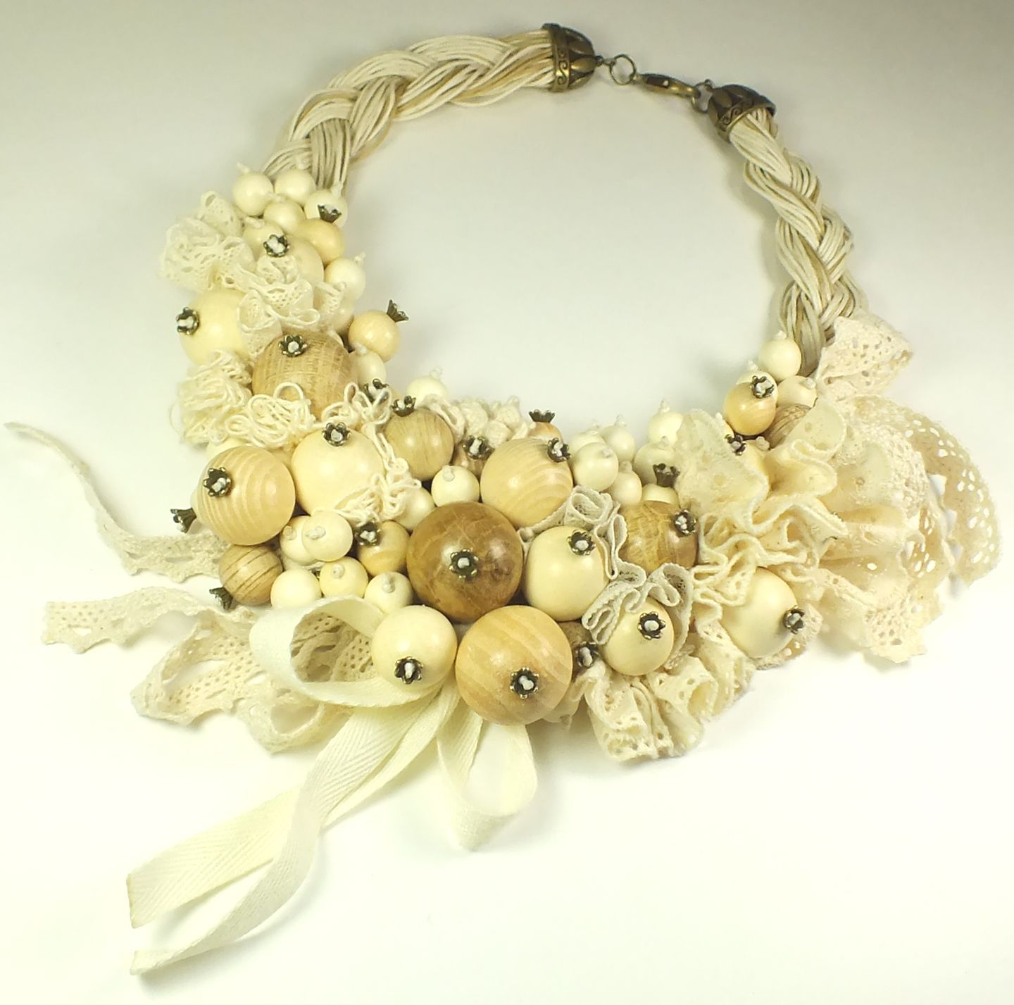Vanilla Lace Gave. Necklace, Necklace, St. Petersburg,  Фото №1