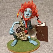 Куклы и игрушки ручной работы. Ярмарка Мастеров - ручная работа Нак Мак Фигл - Роб Всякограб. Handmade.