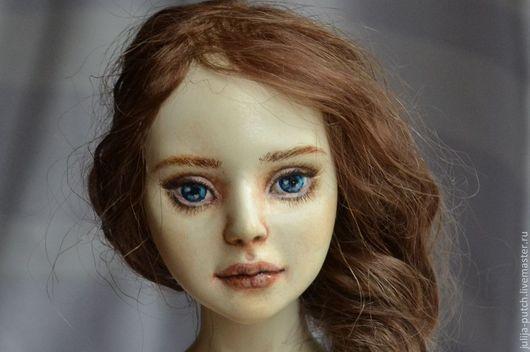 """Коллекционные куклы ручной работы. Ярмарка Мастеров - ручная работа. Купить Шарнирная кукла """"Эми"""" (удочерили). Handmade. Бежевый"""